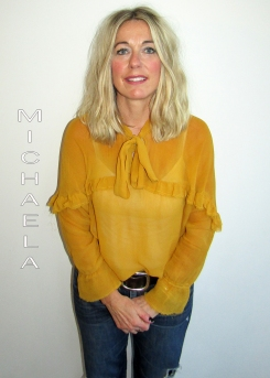 Michaela Johnson - Art Director Hairdresser and Colourist