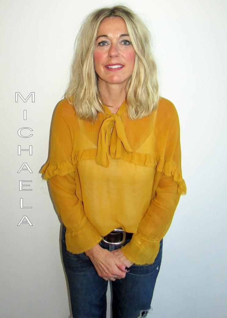 Michaela Johnson - Art Director Hairdresser and Colourist